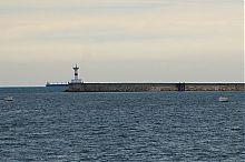 Севастопольские маяк и Северный мол