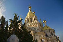 Центральный купол Покровского собора Севастополя