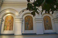 Мозаичные панно святых Покровского собора на Большой Морской