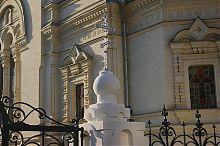 Ограда Покровского храма в Севастополе
