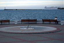 Батарея на севастопольському Костянтинівському мису