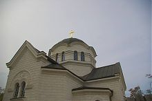 Центральный купол Вознесенского храма Севастополя