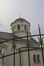 Ограда храма вознесения Господня в Севастополе