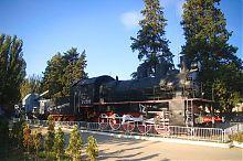 Памятник бронепоезду №5 в Севастополе