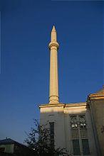 Минарет мечети в Севастополе