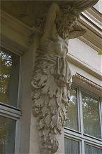 Атлант фасада севастопольского Художественного музея им. М.П. Крошицкого