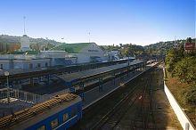 Платформи залізничного вокзалу в Севастополі