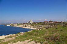 Перспектива Херсонеса и собора святого Владимира в Севастополе
