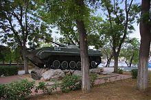 БМП скверу Воїнів-інтернаціоналістів в Севастополі