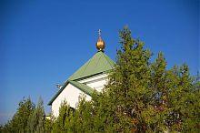 Купол Свято-Мітрофаніевского храму Севастополя