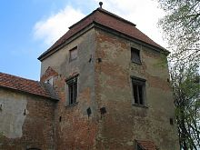Южная башня замка в Жолкве