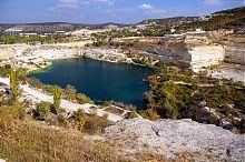 Озеро на дні Інкерманського кар'єра
