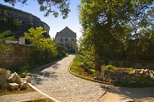 Дорога к монастырю святого Климента в Инкермане