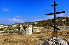 Кругла башта-барбакан фортеці Каламіта в Інкермані