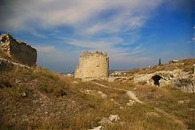 Руины укреплений Каламиты в Инкермане