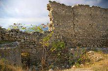 Крепостная стена инкерманской крепости Каламита