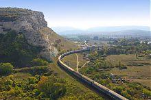 Інкерманська долина у Загайтанськой скелі