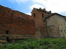 Юго-западная стена Жолкевского замка
