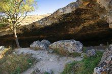 Пещерная стоянка позднего палеолита в Инкермане