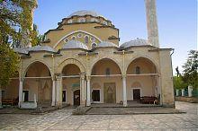 Притвор (северный фасад) мечети Джума Джами  в Евпатории