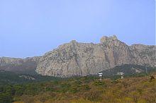Канатная дорога на вершину горы Ай-Петри