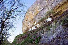 Кельи бахчисарайского Свято-Успенского мужского пещерного монастыря