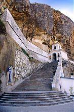 Свято-Успенский храм пещерного мужского монастыря в Бахчисарае