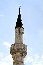 Мінарет бахчисарайської мечеті Тахтали-Джамі