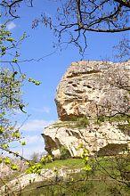 Скала Бурунчак в долине Марьям-Дере Бахчисарая