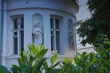 Напівкругла ротонда дачі Мерецької в Балаклаві