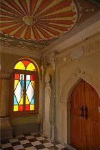 Азара (арочный портик) Большой соборной кенасы евпаторийского храмового комплекса