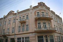 """Северный фасад евпаторийского отеля """"Бо-Риваж"""""""