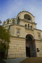 Колокольня Николаевского собора Евпатории