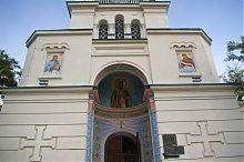 Портал центрального входу євпаторійського Миколаївського собору