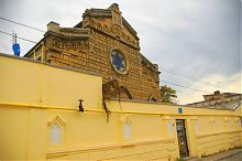Західна стіна комплексу синагоги Егія-Капай в Євпаторії