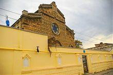 Западная стена комплекса синагоги Егия-Капай в Евпатории