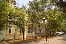 """Східний фасад дачі Б.І. Казаса """"Рів'єра"""" у Євпаторії"""