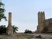 Руины минарета крепости в Белгород-Днестровском