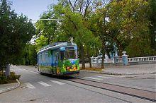 Евпаторийский трамвайный маршрут №2 (улица Пушкина)