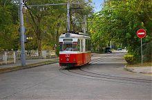 Євпаторійський трамвайто. Маршрут № 2. Вулиця Кірова