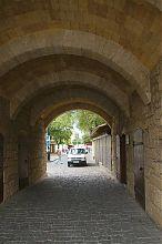 Арочный проезд ворот Одун Базар Капусу в Евпатории
