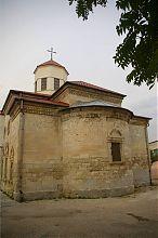 Юго-восточная апсида евпаторийской церкви Сурб Никогайос