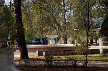 Чаша центрального фонтана сквера им. Гоголя в Евпатории