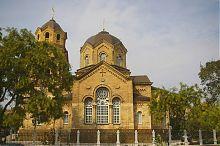 Восточный фасад храма святого Ильи в Евпатории