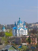 Каменец-Подольская  Святогеоргиевская церковь на Польских фольварках