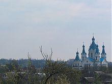 Західний фасад Георгіївського собору Кам'янця-Подільського на Польських фільварках