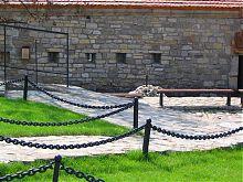 Южная оборонная стена комплекса городских ворот Каменец-Подольского