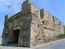 Надвратная башня комплекса городских ворот Каменца