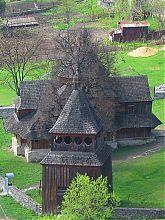 Деревянная Крестовоздвиженская церковь на Карвасарах в Каменце