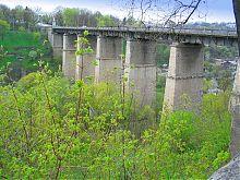 Новоплановский мост Каменец-Подольского